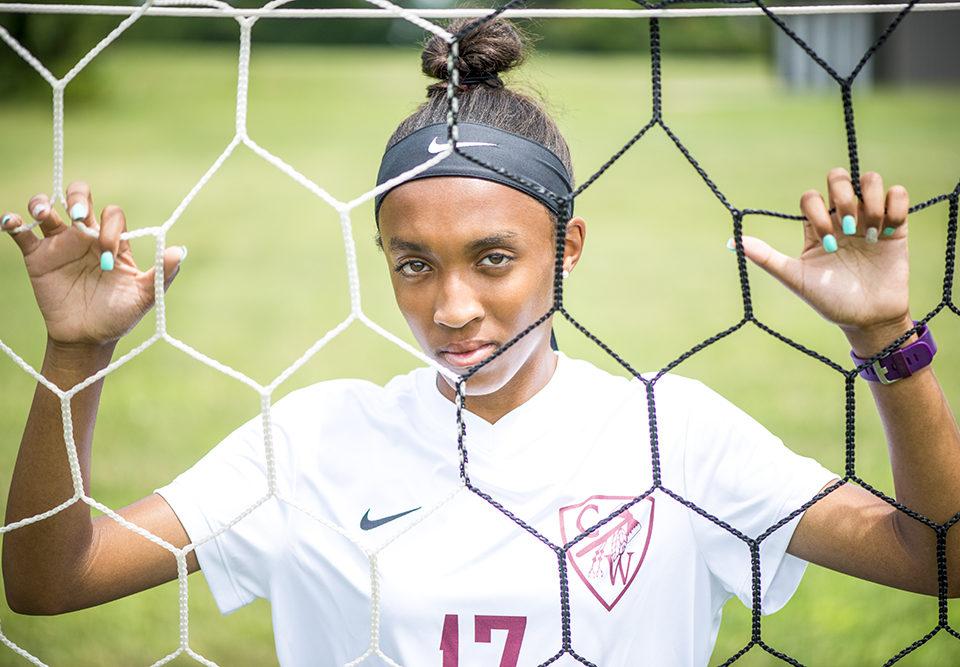 Senior Soccer player