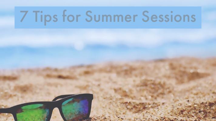 summer photo tips