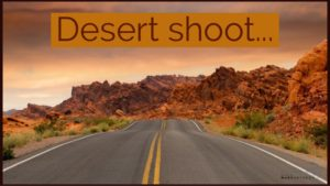 New year new plans desert shoot