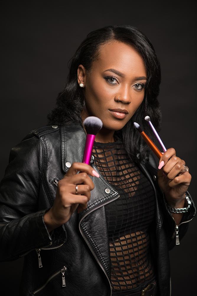 personal brand photography makeup artist