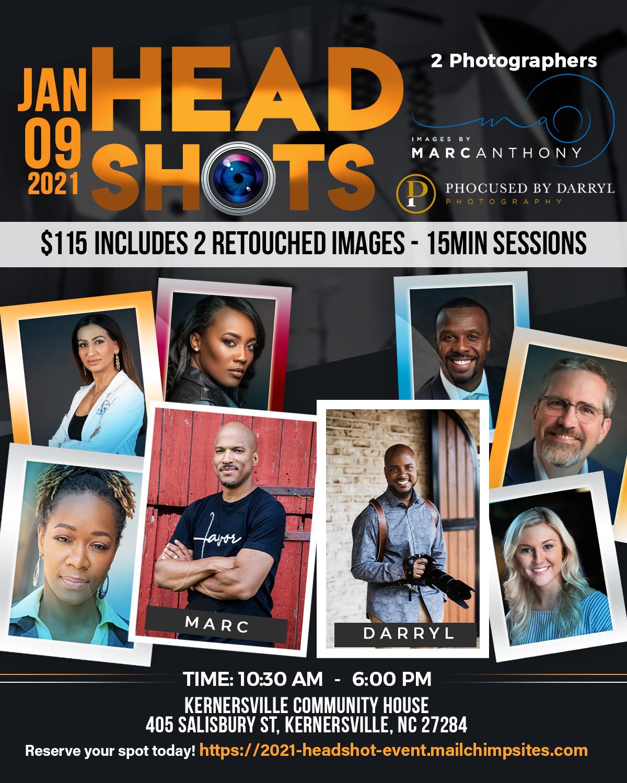 2021 headshot event