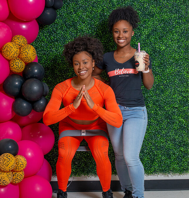 Believe Nutrition and Get Up and Glo Fitness