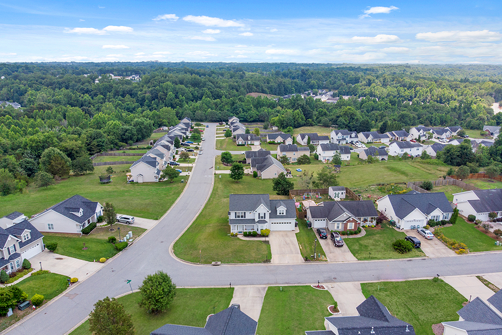 aerial images real estate